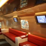 Interior of Airstream Cigar Lounge