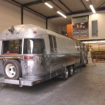 Building Airstream 345 Food Truck
