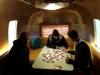 TV Show Manneken Pis in Airstream Argosy Motorhome