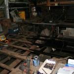 Frame schoonmaken en opnieuw in de metaalverf zetten