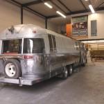 Building Airstream 345 Food Truck